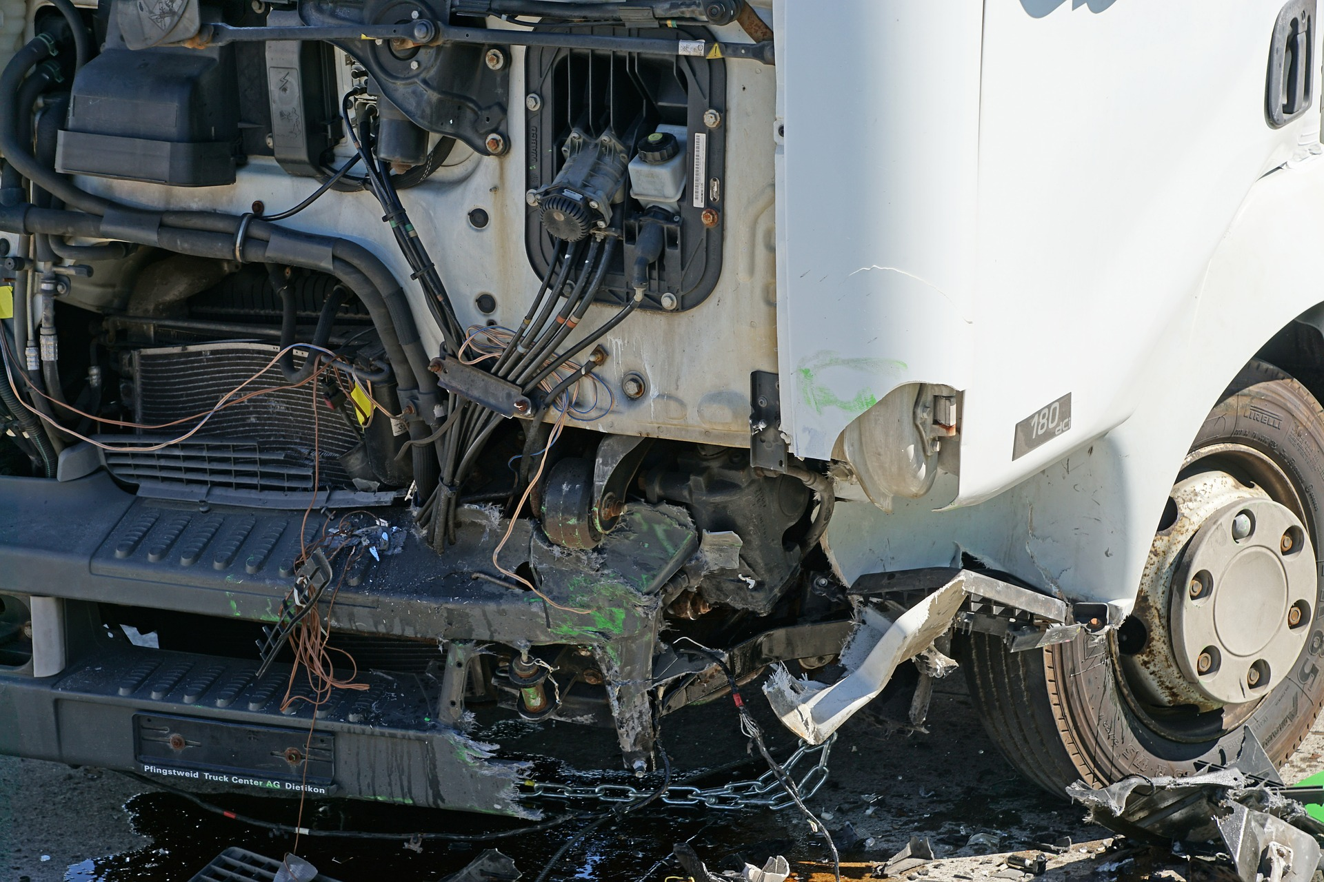 Truck Accident Insurance Image