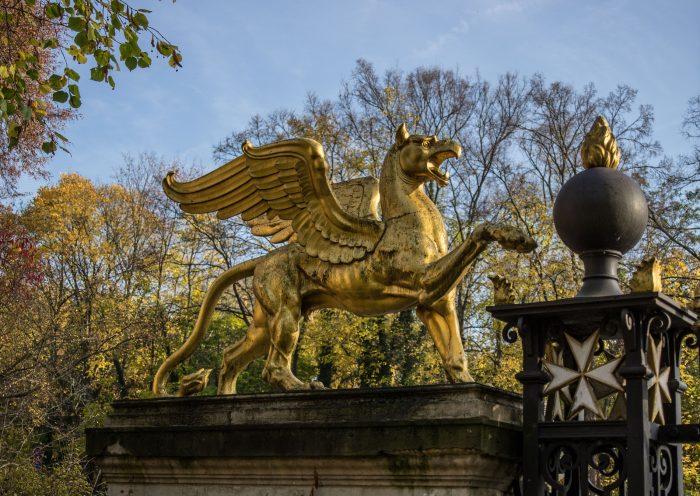 Flying Lion Image